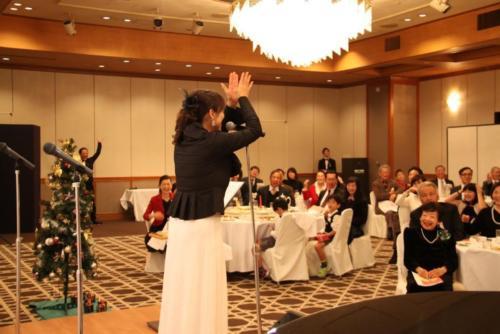 2018.12 南大阪聖書教会クリスマス晩餐会.