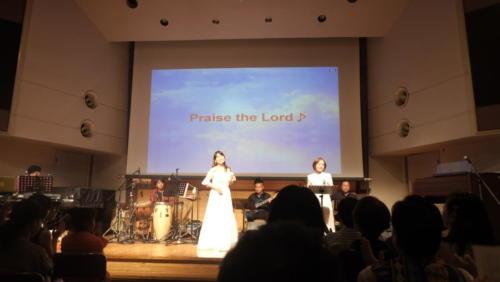 2019.8 「神の息吹」CDリリース記念コンサート at 御茶ノ水クリスチャンセンター8階チャペル1